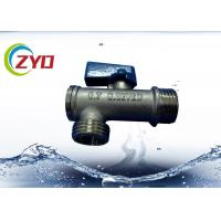 Buy cheap Low Weight Brass Plumbing Valves Stainless Steel Filter Medium Pressure product