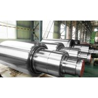 Buy cheap Cold Rolling Mill Forged Steel Rolls Water - Cooled Copper Mould High Toughness product