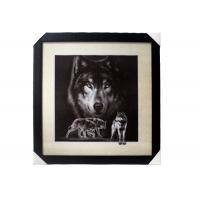 Buy cheap Stock 5D pictures with Frame 3D Lenticular Pictures Popular Wolf Image product