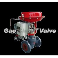 Buy cheap ZXGV pneumatic membrane cage type single seat valve from wholesalers