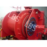 Buy cheap Grey Colour Anchor Windlass Winch Smooth Durm For Pulling / Pushing product