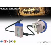 China Explosion Proof Mining Cap Lights 25000 Lux Strong Brightness Corded Style on sale