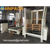 Buy cheap China factoryHennopack manufacturer sales Magazine Dispenser/Pallet Stacker/Auto Pallet Stacking and Dispensing Machine product