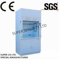China Polypropylene Chemical Laminar Flow Hood with Electric Socket for lab testing wholesale