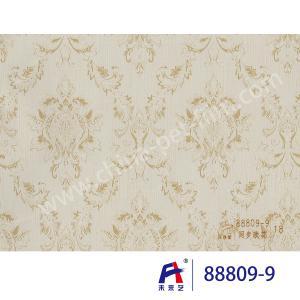 Buy cheap PVC  Coating  Film    PVC Decorative Film  88809-9 Synchronize the flowers  0.12-0.14mm product