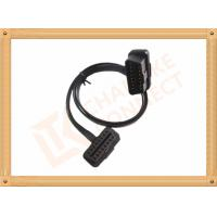 Buy cheap Custom 1-15M Automotive Flat OBD Obd Extension Cable 16 Pin Odb2 Extension Cable product
