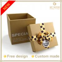 Buy cheap Craft paper card gift boxes product