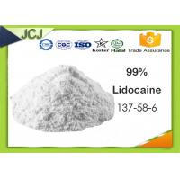 Buy cheap 99% Assay Pharmaceutical Raw Materials Lidocaine 137-58-6 For Local Anesthetic product