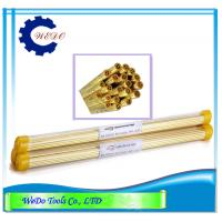 Buy cheap Multi Hole EDM Brass Tube Electrode Pipe 2.5x400mm For EDM Drilling Machine product