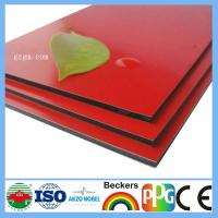 Buy cheap pvdf aluminum composite panel from wholesalers