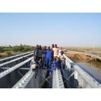 Prefabricated Steel Girder Bridge Heavy Capacity With composite bridge deck