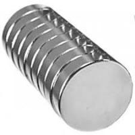 Buy cheap Rare earth permanent ndfeb rare earth neodymium Disc magnets D25x3mm Nickel product