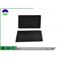 Black Monofilament Geotextile Drainage Fabric Stable With High Tensile Strength