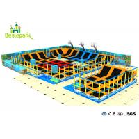 Buy cheap Professional Indoor Trampoline Park Equipment With Good Elastic Springs product