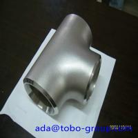 Buy cheap Sus304 304L 316 316L Stainless Steel Tee , 1-48 inch steel pipe tee product