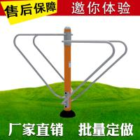 Buy cheap Reliable Outdoor Workout Equipment , Open Air Fitness Equipment Steel Material product