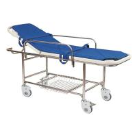 China Stainless Steel Manual Patient Transfer Trolley For Handicapped wholesale