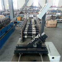 Buy cheap Durable CZ Purlin Roll Forming Machine Dual Holes Punching 11 MAp Work Pressure product