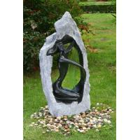 China Outside Garden Statue Water Fountains With Fiberglass / Cement / Magnesia Material wholesale