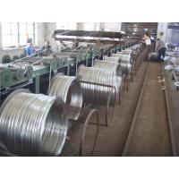 Buy cheap 8 9 10 Hot Dipped Galvanized Wire , Galvanized Binding Wire For Highway Barriers product
