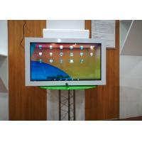 Buy cheap 32 Inch Transparent Lcd Display Commodity Displaying Cabinet Case One Sided product