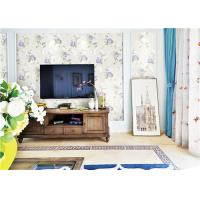 China Easiest Way To Remove Wallpaper , Living Room Embossed Vinyl Wallcoverings on sale
