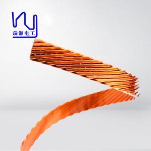 El alambre plano/rectangular de diverso tamaño de Litz, múltiplo trenzó el alambre del imán para los inversores