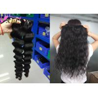 China Smooth Wavy Grade 8A Virgin Remy Hair Extensions No Chemically Processed on sale