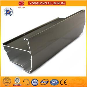 Buy cheap Oxidation Aluminum Heatsink Extrusion Profiles High Film Adhesion product