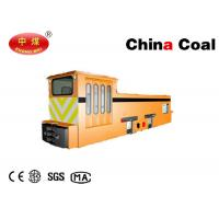 Buy cheap Stringing Electric Locomotive Mining Equipment 10t Variable Speed AC Overhead Line Mine Locomotives product