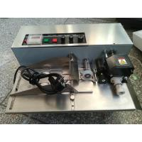 Buy cheap Solid-Ink Coder machine MY380 with stainless steel  with hot ink roller to print the date number or expiry number from wholesalers