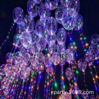 Buy cheap Transparent balloon LED lights, balloon Bling Bling Colorful light for birthday party decoration wedding layout product