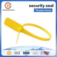China Flexi click plastic strip seal lock P101 Green, red, blue, white, orange, yellow or customize on sale