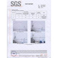 China Sell SGS test report for flag pole made of fiberglass on sale