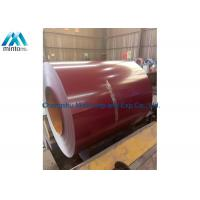 China Flameproof Pre Painted Aluminium Coil Prepainted Galvalume Steel Coil on sale