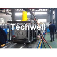 Buy cheap Steel Sheet Upright Rack Roll Forming Machine for Storage Shelf Profile product