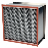 Buy cheap High Temperature 500Pa HEPA Air Filter With Glass Fiber Paper product