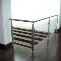 Buy cheap Indoor Stainless Steel Tempered Glass Railings Handrail Philippines product