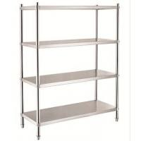 Buy cheap Four Layers Stainless Steel Rack Knockdown Series Flat Sheet storage rack product
