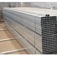 China Hot Dipped Square and Rectangle Galvanised Steel Pipe Tube 6m Length ASTM GB Standard on sale