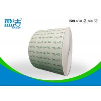 7oz Raw Material Large Paper Rolls , Customized Design Roll Of Craft Paper