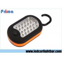 Buy cheap Brillo de la prenda impermeable 10000 MCD del ABS de las luces del Portable que acampa 24+3 LED product