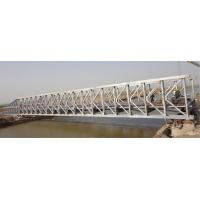 Buy cheap Custom Permanent Steel Structure Bridge Steel Deck With Good Stability product