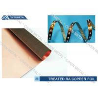 China High Performance Rolled Annealed Copper Foil  ,  Thin Copper Foil for Laminating wholesale