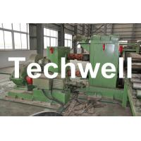 Buy cheap Horizontal Steel Cut To Length Machine Line To Cut Carbon Steel / Stainless Steel Coils product