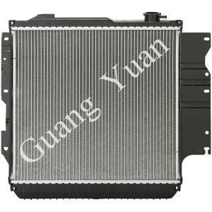 Quality High Strength Core Chrysler Car Radiator For Jeep Wrangle DPI 2101 1015 1682 OEM 52080181 for sale