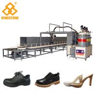PU Footwear Pouring Foam Polyurethane Injection Machine300-400 Pairs Per Hour for sale