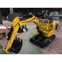 Buy cheap Simple 1.5km/H Mini Excavator Machine / Digging Machine For Farm Weight 800kg product