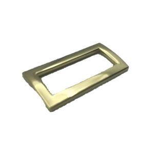"Buy cheap Golden 1"" Metal Hook Buckle webbing Adjustable Slide Buckles product"