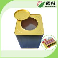Buy cheap Fly Paper Hot Melt Adhesive Glue , Yellow Semi Transparent Hot Glue Adhesive product